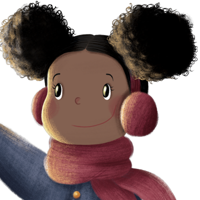 Girl Afro - Your child